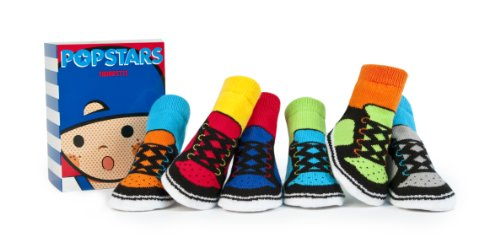 Trumpette Toddler-Socken - POP STARS Geschenkset in Box - 12-24 Monate