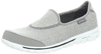 Skechers Performance Women's Go Walk Slip-On Walking Shoe, Light Grey 6 W US