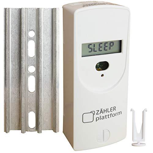 Zähler Plattform 565 elektronischer Heizkostenverteiler inkl. Plombe + Wärmeleitplatte