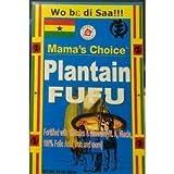 2 paquetes de Mama's Choice Plátano Fufu - 24 onzas por paquete