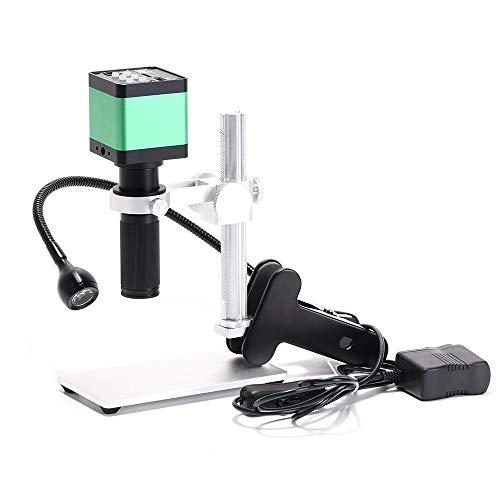 WHEEJE Cámara 48MP 1080P HDMI VGA Vídeo Digital Electrónico Microscopio con 120X C-Montar la Lente y de 56 LED for la Soldadura y reparación de teléfonos (Color : USB 48MP)