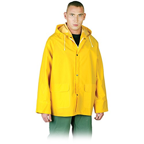 REIS Regenjacke KPD L-XXXL Arbeitsjacke Schutzjacke Windjacke Regenschutz Gummijacke Größe XL