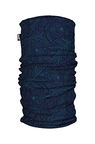 Had Funktionstuch Printed Fleece Tube/one size, Autuno Blue, one size, HA491-0756