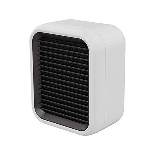Calentador eléctrico, Mini calentador eléctrico Escritorio Blanco Blanco Calefacción de cerámica para oficina para el hogar Calentador de ventilador (color: rojo, Tipo de enchufe: JP) Termostato (Colo