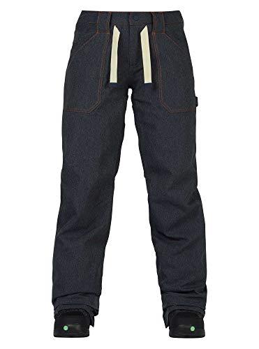 Burton Damen Veazie Pant Snowboardhose, Denim, M