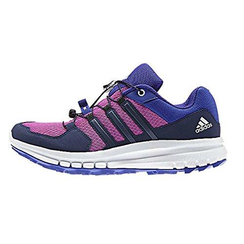adidas Duramo Cross Trail - Zapatillas de senderismo para mujer, (Rosa Flash / cielo nocturno / flash nocturno.), 37 EU