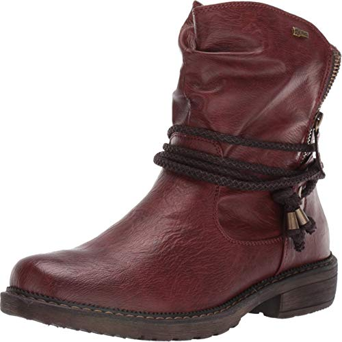 Spring Step womens Mid Calf Boot, Bordeaux, 9 US