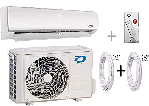Diloc Aire Acondicionado Wifi 18000 BTU Climatizador Inverter Pared D.FROZEN.18+D.FROZEN118 Compresor Sharp + Tubos Cobre Par 1/4