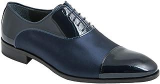 FENATTI-ALMANSA Zapato Hombre Cordones Piel Charol-Raso 39034
