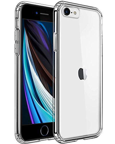 Mkeke Compatible with iPhone SE Case 2020, iPhone 8 Case, iPhone 7 Case Clear Cases for iPhone SE 2nd Generation, iPhone 8 and iPhone 7