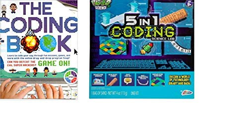 Kids Beginner Coding Starter Kit. Includes The Coding Book And 5 In 1 Coding Science Lab Kids Coding Starters Kit