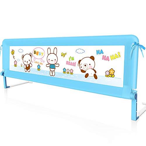 barrière de lit pour bébé, garde-fous anti-déflagration pour berceau, garde-corps pliable anti-pincement à 180 ° pour enfant