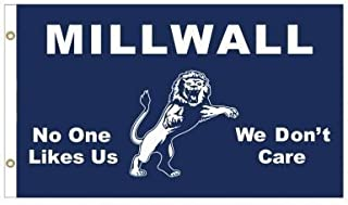Millwall Giant Lions No One Likes Us Flag
