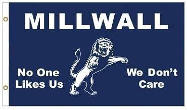 Giant Millwall leeuwen niemand houdt van ons vlag