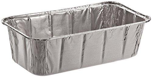 SafePro Foil Loaf Pan, 2 lb. (Case of 100), Baking Foil Pans Disposable