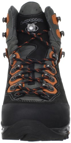 Lowa Men's Camino GTX FreeFlex Hiking Boot,Black/Orange,8 M US