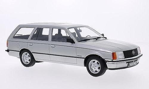 Opel Rekord E Caravan, silber, 1981, Modellauto, Fertigmodell, BoS-Models 1 18
