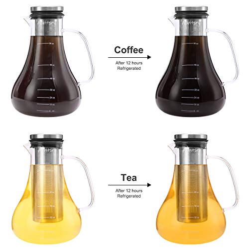 Aebitsry-Cold-Brew-Coffee-Maker56oz-for-Homemade-Iced-or-Hot-Coffee-Maker-Brewer-Pitcher-Airtight-Thick-Glass-Tea-Pot-Infuser-Carafe-with-Ultra-Mesh-Removable-Stainless-Steel-Filter-and-Seal-Lid