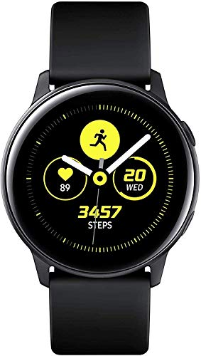 Samsung Galaxy Watch Active, Bluetooth Fitnessarmband Für Android, Fitness-Tracker, 40 mm,wassergeschützt, Schwarz (Deutche Version)