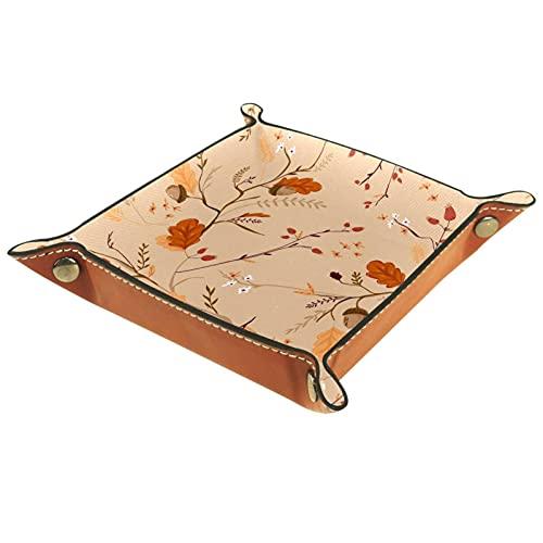 rogueDIV Bandeja plegable de cuero para dados con broches para DND, juegos...