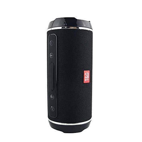 Accrie - Altavoz inalámbrico Bluetooth de 40 W, resistente al agua, USB, TF/AUX MP3, reproductor de música portátil