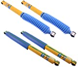 NEW BILSTEIN FRONT & REAR SHOCKS FOR 99-04 FORD F-250 & F-350 4WD SUPER DUTY, INCLUDING XL XLT KING RANCH LARIAT HARLEY DAVIDSON, 4600 SERIES 46MM SHOCK ABSORBERS, 1999 2000 2001 2002 2003 2004