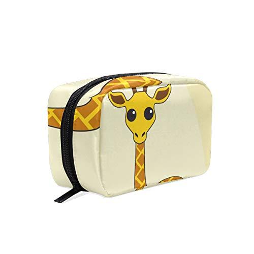 LUPINZ Trousse de maquillage pour enfants Motif girafe