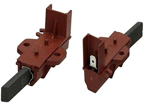 Ariston Indesit 1par escobillas carbón Motor Lavadora Originales Rojas SP 1