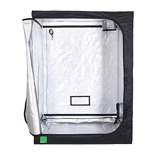 Budbox Lite Range - 40cm X 40cm Up To 1m X 1m Silver Mylar Grow Room Tents (LITE - 100x100x200)