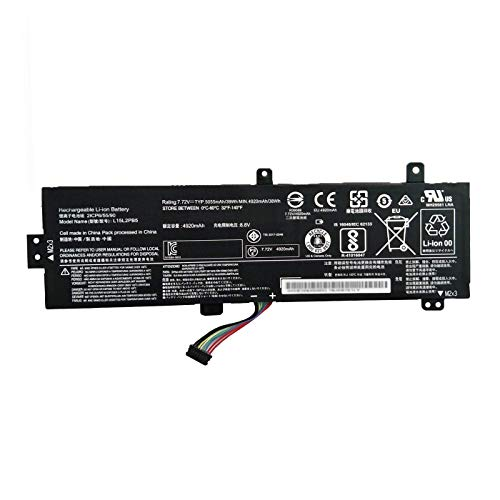 BOWEIRUI L15L2PB5 (7.72V 39Wh 5055mAh) Laptop Battery Replacement for Lenovo IdeaPad 310-15IKB 310-15ISK 510-15ISK 510-15IKB 310-15ABR Series L15C2PB3 L15C2PB7 L15L2PB4 L15S2TB0 L15C2PB5 L15M2PB5 L15M