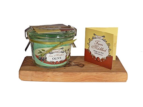 Einseifer Feines Milchbad Olive Im Glas Badezusatz