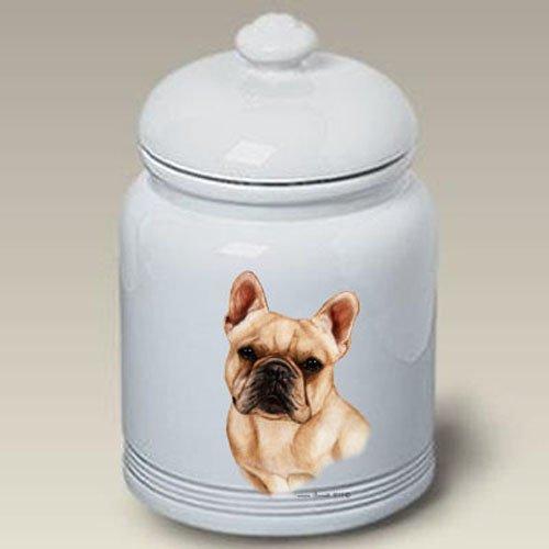 French Bulldog Cream - Tamara Burnett Treat Jars