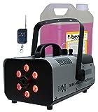 E-Lektron N-910-RGB DJ Party Nebelmaschine 900W mit LED Beleuchtung inkl. 5L Nebelfluid