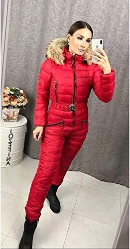 ZYJANO ski pak Vrouwelijke Ski Suits Vrouwen Een Stuk Ski Jumpsuit Ademende Snowboard Jas Skiën Pant Sets Bodysuits Outdoor Warm Kleding