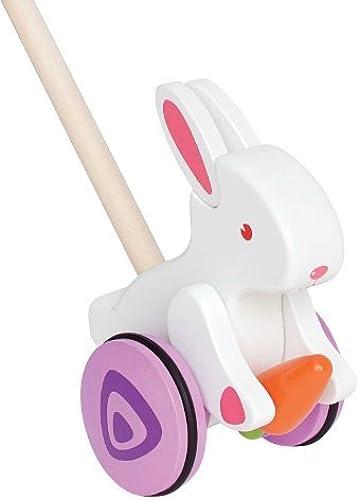 tiempo libre Hape Bunny Bunny Bunny Push and Pull by Hape International  gran descuento