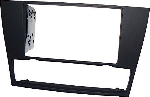 Mascherina autoradio in kit di montaggio 2 DIN con staffe fissaggio stereo doppio din.