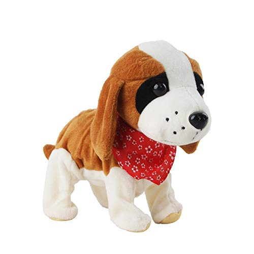 Perro de juguete con pañuelo