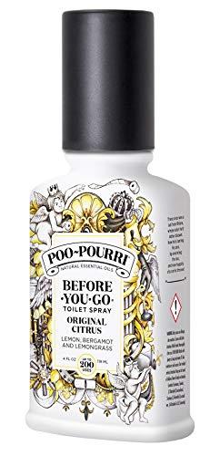Poo-Pourri Original Citrus - Agua de tocador para Hombre, 118 ml