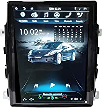 FLYUNICE 10.4 Inch IPS Vertical Screen Tesla Style Android 9.0 Touch Screen Car Stereo Radio for Porsche Panamera 2011 2012 2013 2014 2015 2016 Multimedia GPS Navigation Bluetooth WiFi
