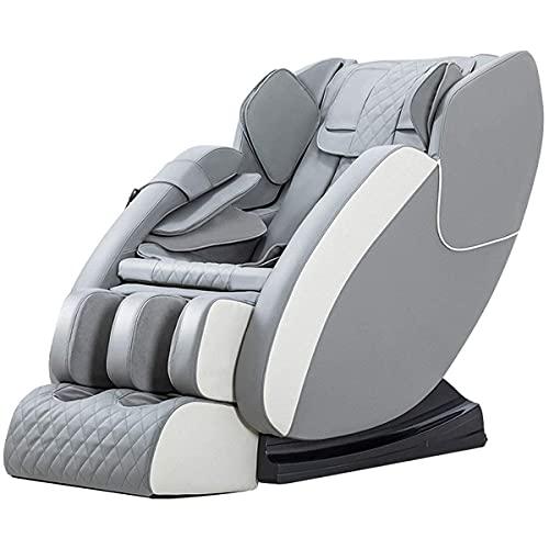 Full Body Electric Massage Chair Sillón, Zero Gravity Sl Track Massage Chair Sillón, Full Body Shiatsu Massage Chair reclinable con ahorro de espacio, Auto Body Detection, Thai Stretching,