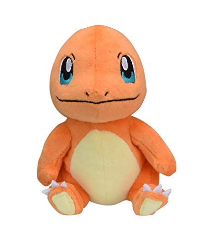 Pokemon Center Original Pokemon Fit Charmander Salamèche Glumanda Plush Peluche Plüschtier