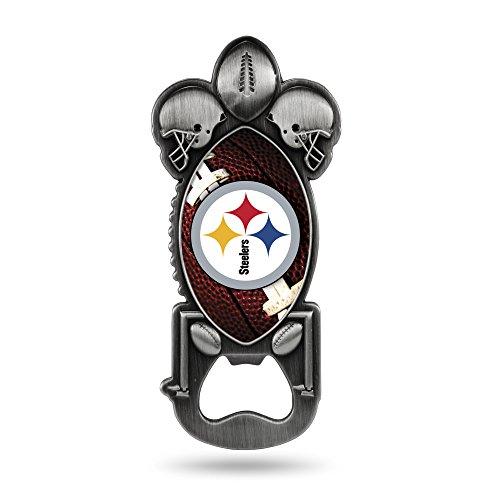 NFL Rico Industries Magnetischer Metall-Flaschenöffner Party Starter Pittsburgh Steelers