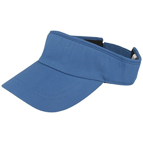 Balke Sonnenschild Visor mit Klettverschluss für Damen und Herren - royal blau