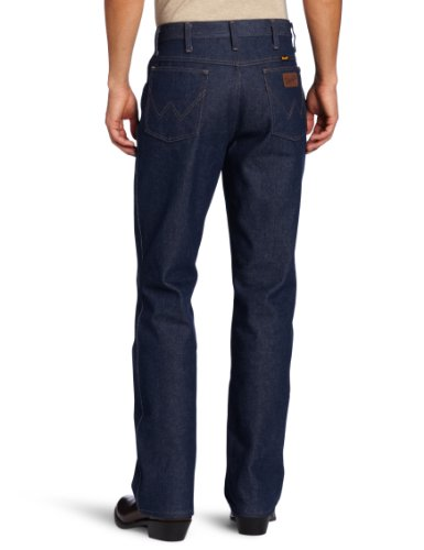 Wrangler Men's Cowboy Regular Boot Cut Jean, Navy, 46x32