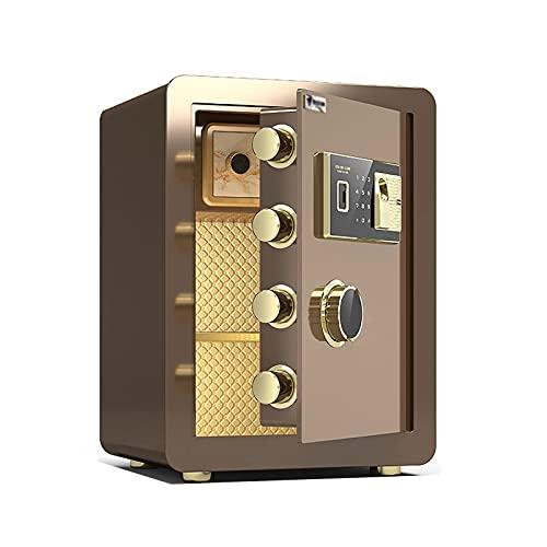 Cajas Fuertes Caja Fuerte electrónica ignífuga, los gabinetes de Seguridad de Acero se utilizan para Las Cajas de Archivos de la Oficina en el hogar, con Bloqueo de código de Huellas Dactilares, fác