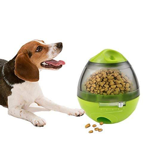 Palla Cibo Cane, Yokunat Dispenser Giocattolo Interattivo Sfera di Erogazione per Cani e Gatti Aumenta La Stimolazione Mentale E IQ, Migliore Alternativa a Ciotola per la Pappa per Animale Domestico