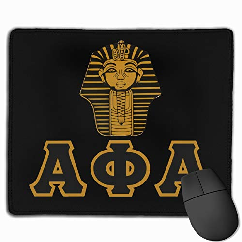 Alpha Phi Alpha Mouse Pad Customized Gaming Mousepads for Laptop and Computer Non-Slip, Stitched Edges, Waterproof