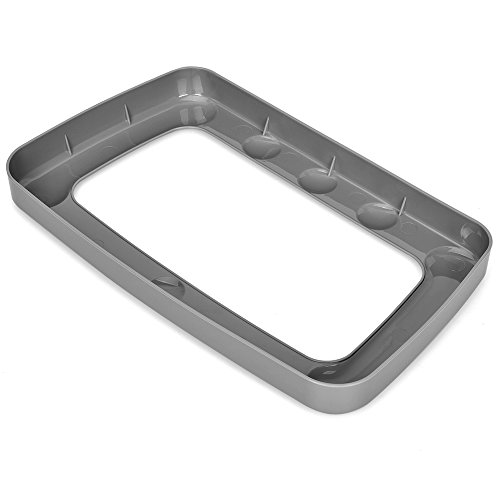"Shark Steam Mop S3601 Replacement Mop Head Carpet Glider - Outer Dimensions 13 3/16"" x 7 3/16"