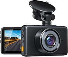"APEMAN Dash Cam 1080P FHD DVR Car Driving Recorder 3"" LCD Screen 170°Wide Angle, G-Sensor, WDR, Parking Monitor, Loop..."