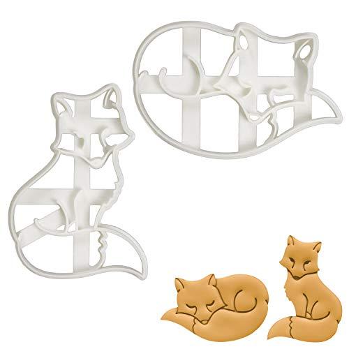 Fox cookie cutters